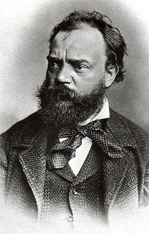 Antonín Leopold Dvořák born