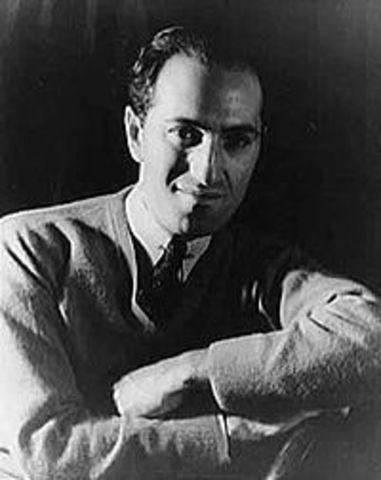 George Gershwin born