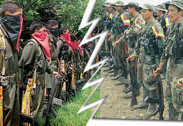 Las FARC rompen tregua con el ELN en Arauca