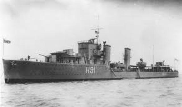 Scott joins HMS Boadicea