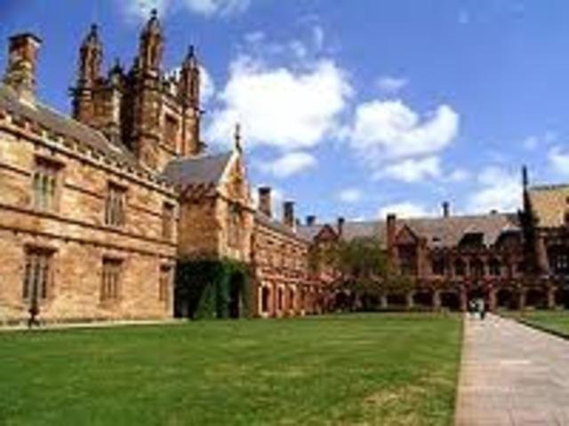 Mawson Graduates From Sydney University