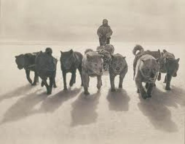 Mawson's Australasian Antarctic Expedition Begins