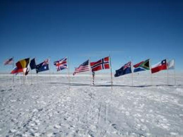 The Polar Party Reaches South Pole