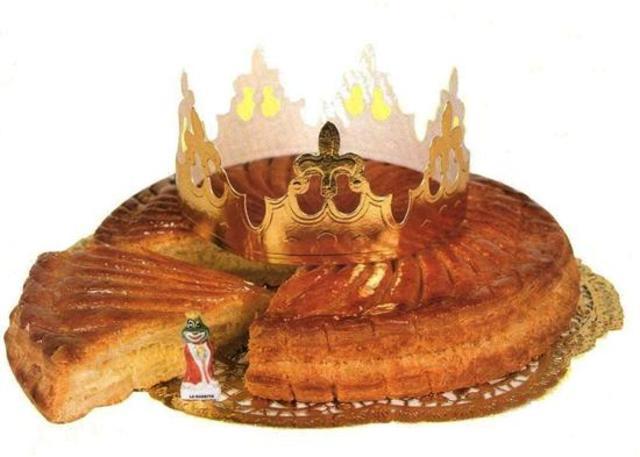 La galette des rois, gâteau traditionnel pour l'Epiphanie