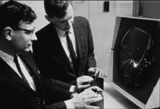 The first computer game Spacewar Computer Game invented BY Steve Russell & MIT