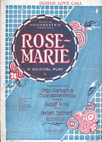 "Hammerstein-Opening of ""Rose-Marie"""