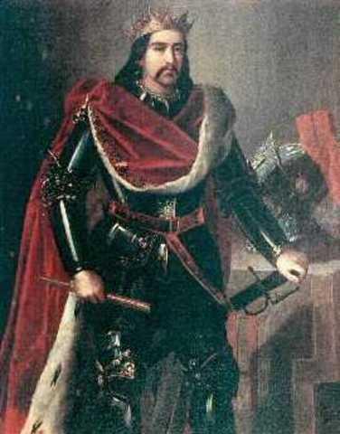 Neix Pere el catòlic (Montblanc 1177-Muret 1213 )