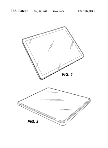 Apple receives first iOS-based patent