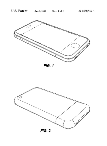 Apple receives iPhone patent