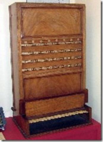 La primera máquina lógica en usar el álgebra de Boole