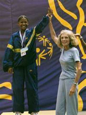 The founder of Special Olympics, Eunice Kennedy Shriver, dies