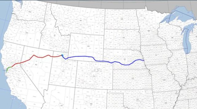 Trans-Continental Railroad Completed