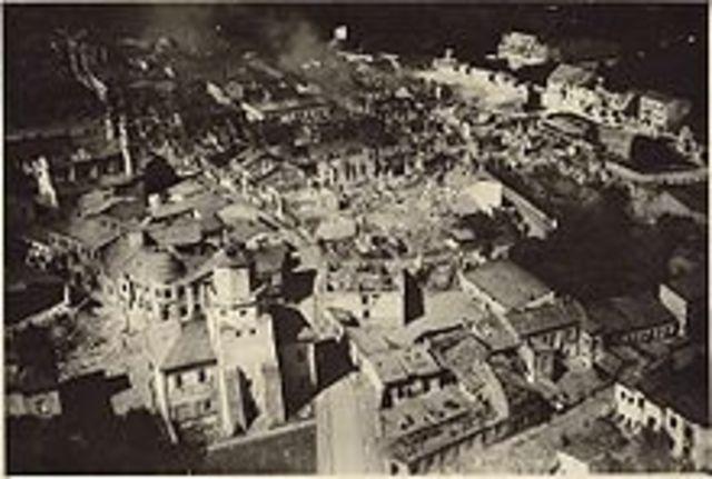 The Germans Invading Poland
