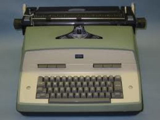 IBM introduced the electric typewriter