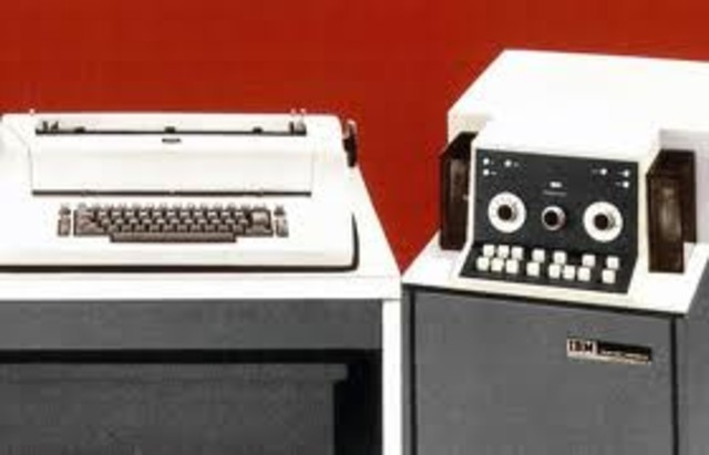 IBM introduces the first word processor