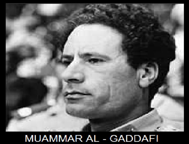 Golpe militar del Coronel Muammar Abu Minyar El Gadafi y derrocamiento del rey Idris