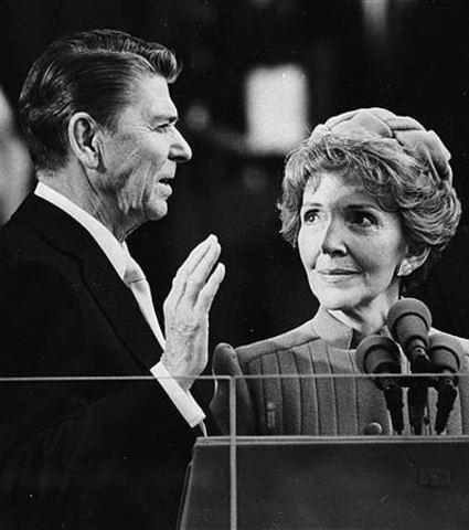 Toma de Posesión de Ronald Reagan