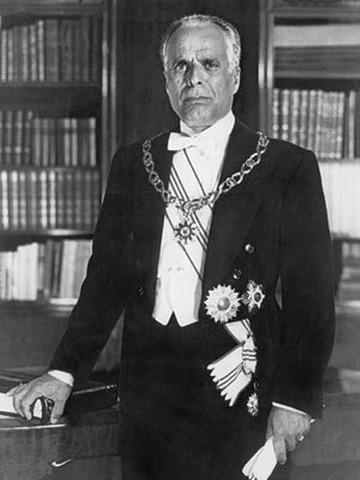 Derrocamiento de Bourgiba en Túnez