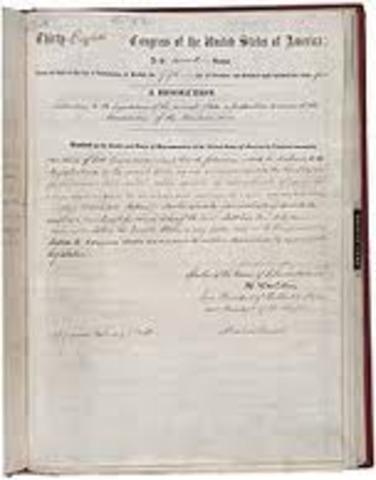 13th Amendment passed