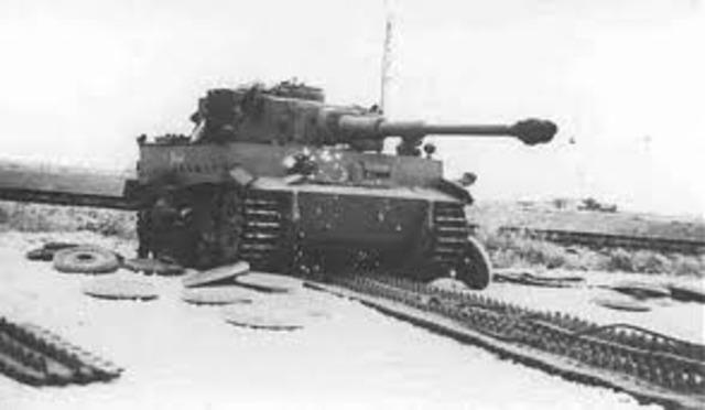 Germen Tiger tank introduced