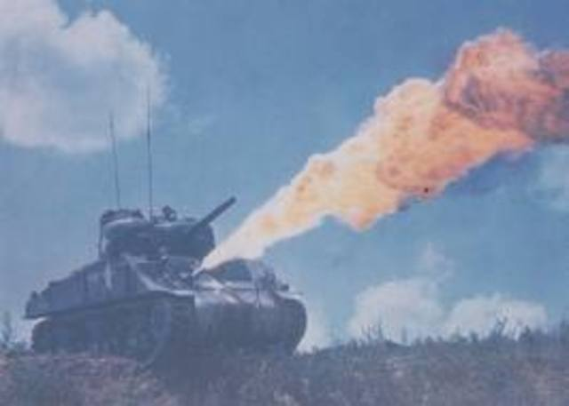 Flame tanks