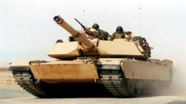 Abrams A1 Modren tank of U.S