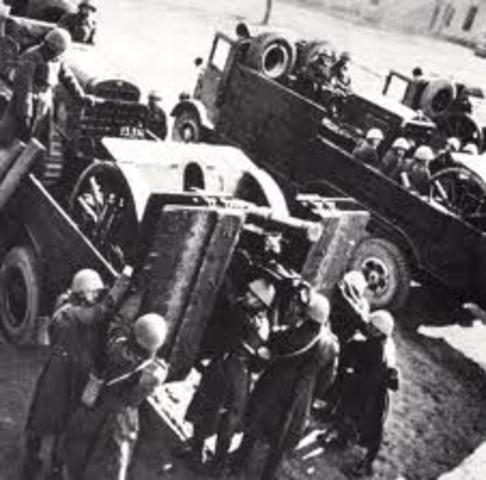 Germany Invades Czechoslovakia
