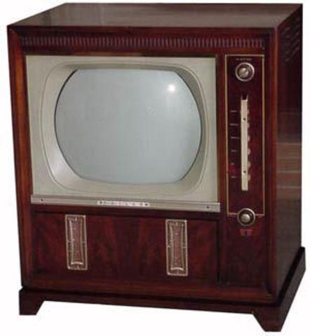Televisão Preto e Branco 1934