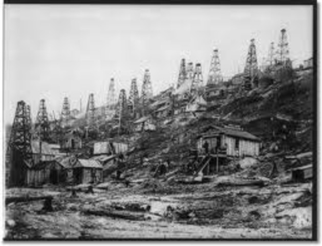 Oil discovered in Pennsylvania