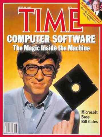 Microsoft e Bill Gates 1975
