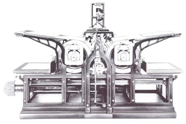 La primera impresora de matriz de puntos.