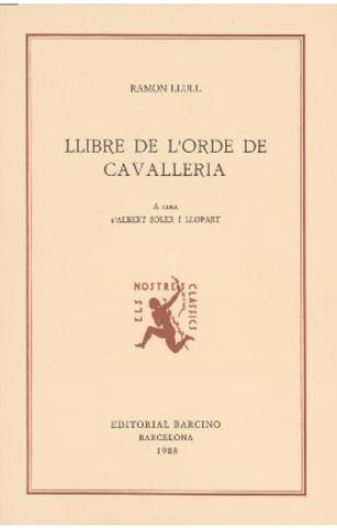 Llibre de l'ordre de Caballería (Ramon Lull)