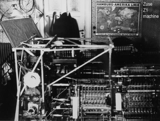 Konrad Zuse - Z1 Computer