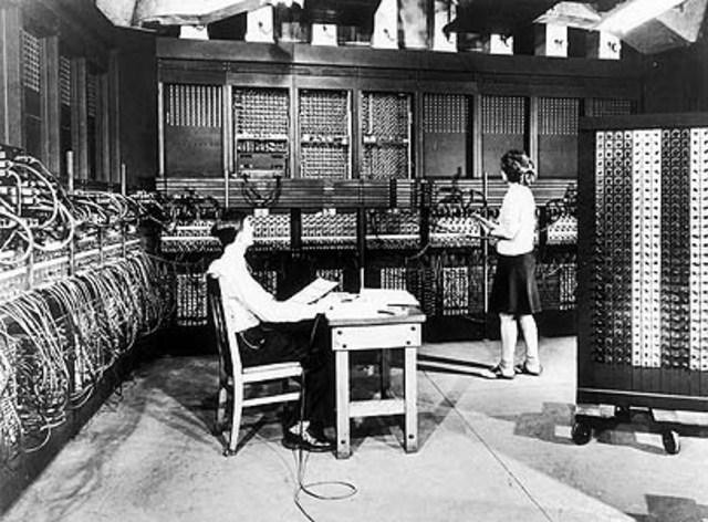 John Presper Eckert & John W. Mauchly- ENIAC 1 Computer