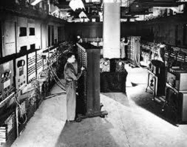 ENIAC computer is shut down.