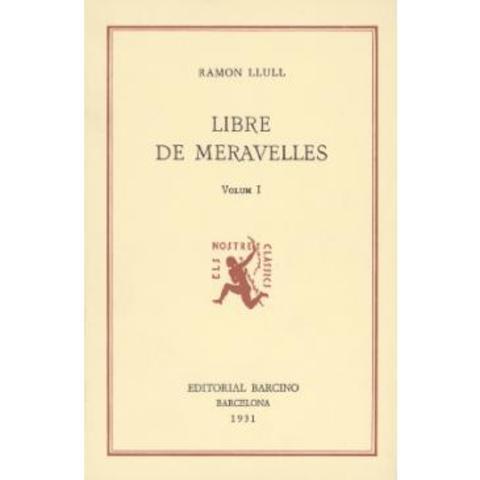 Llibre de les meravelles (Ramon Llull)