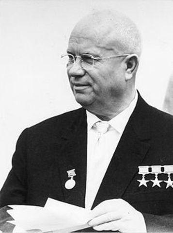 Nikita Chroesjtjov leider