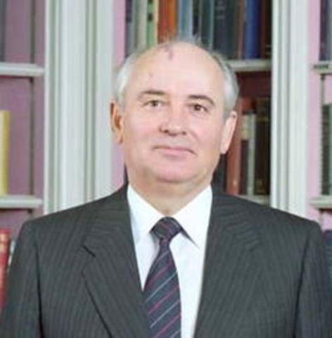 Gorbatsjov leider