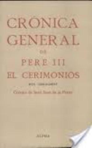 Crònica de Pere el Cerimoniós