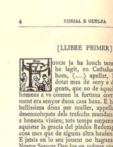 Curial e Güelfa (Autor desconegut)