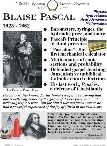 Pascal invents the mercury barometer