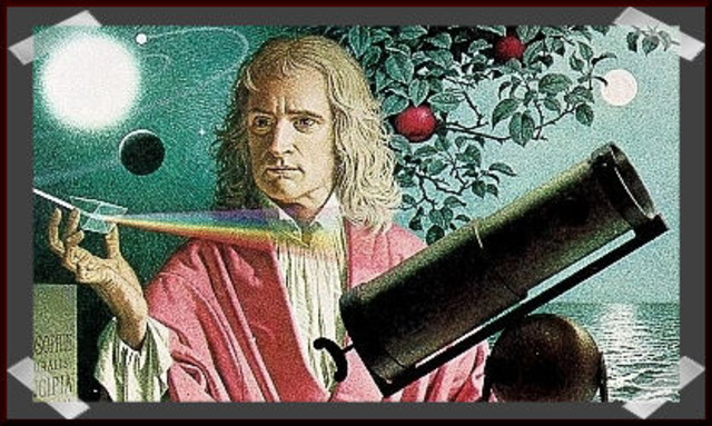 Isaac Newton takes gravity to a new level
