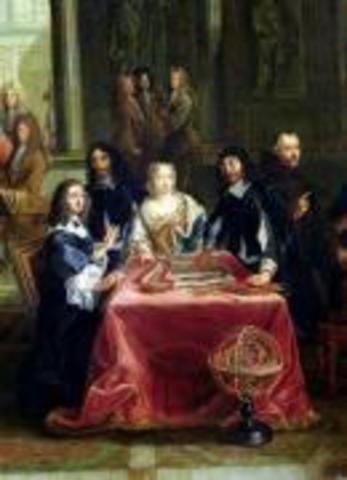 Queen Christina of Sweeden and Her Court