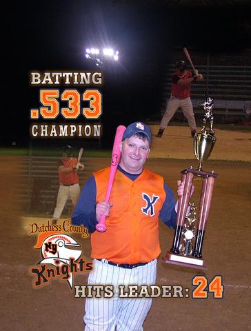 DCMSBL 35+ Batting Champion