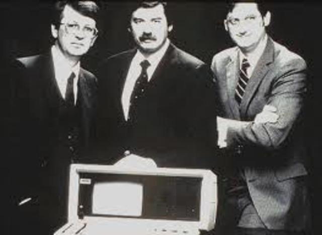 John canion, Jim Harris y bill murto