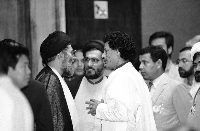 Alianza estratégica Libia-Irán