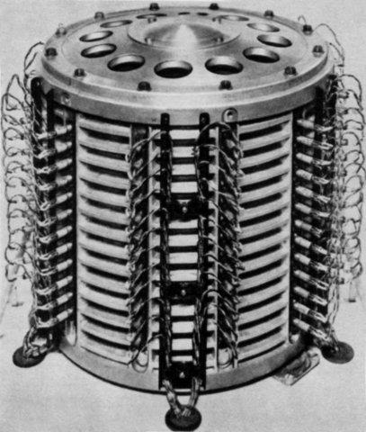 El primer computador comercial (Tambor Magnético)