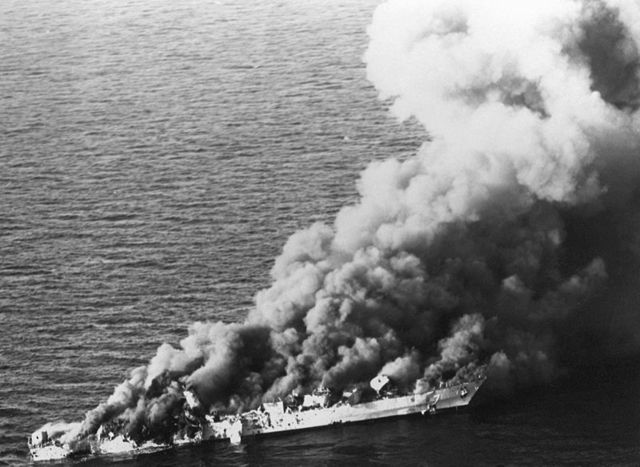 Batalla naval en el golfo de Sirte