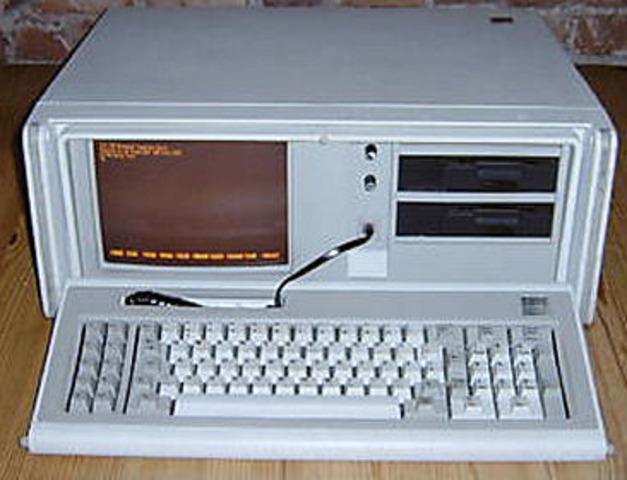 La PC compatible Compaq Portable II