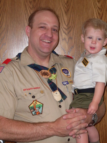 Completed BSA Wood Badge Training and recieved Beads